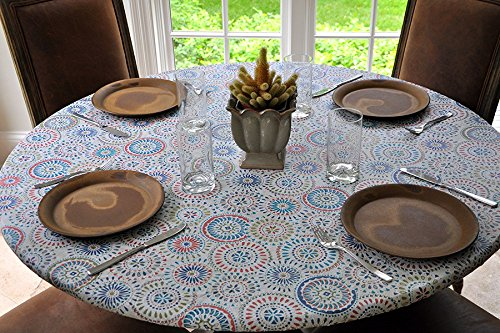 Sperry Mfg Vesuvius Stone Pattern Mosaic Table Cover